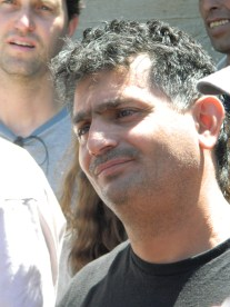 Hassan is worried when he is told he will be detained. Photo EAPPI/L. Hilton.