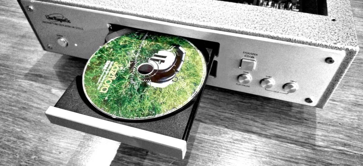 A mesélő – Line Magnetic LM 215 CD játszó