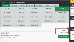 Bet9Ja Booking Interface