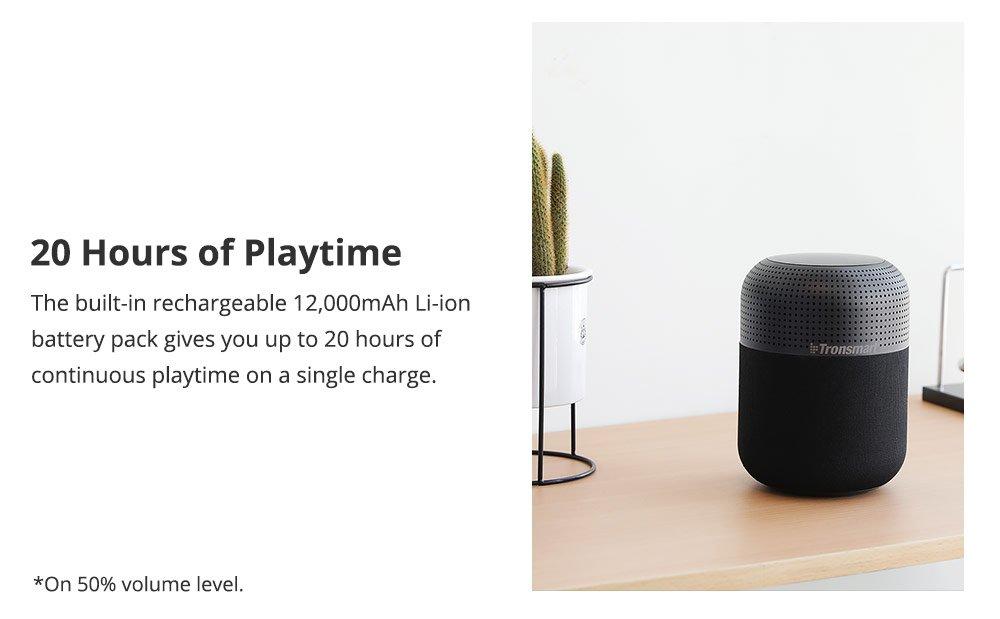 bluetooth speaker tronsmart t6 max review 8