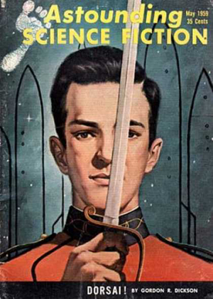 LITTLE-KNOWN FACT: In the original 1959 serialization of DORSAI, Donal Graeme was portrayed by a time-travelling Wil Wheaton.