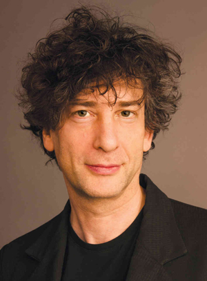 Neil Gaiman, bestselling author and very charming fellow.