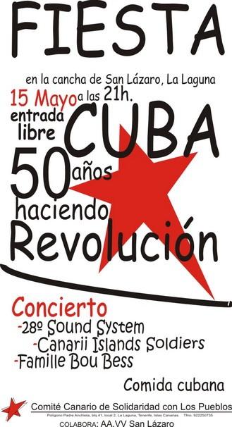 Cartel fiesta 50 Cubaweb-1