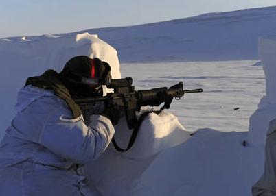 Военная агрессия в Арктике