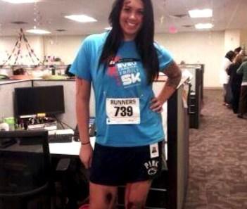 marathon victim