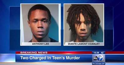 Teen suspects