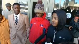 three teens arrested
