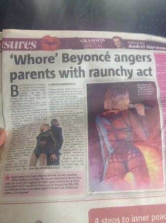 whore-beyonce-smh-newspaper