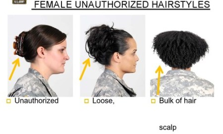 army hairstyles