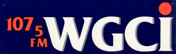 107_5_fm_wgci_fm_chicago_bumper_sticker