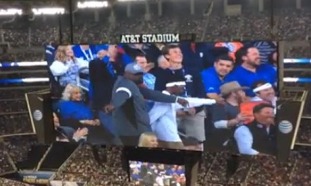 father son dance at game