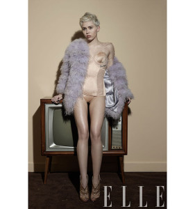 miley on the cover of elle 2014