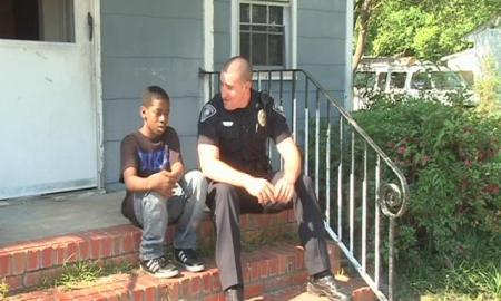 Police officer buys bed, TV, Wii for teen