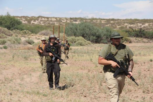 Photos Show Border Militias Moving Across Texas To Take The Immigration Crises In Their Own Hands