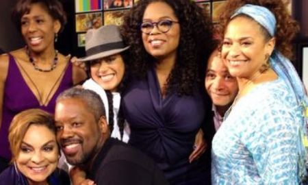 "Oprah Winfrey Reunites ""A Different World Cast"