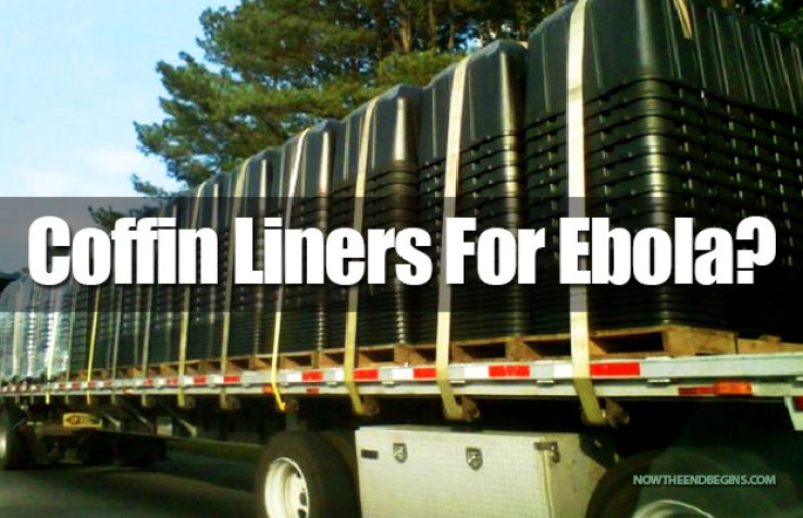 ARE THE FEMA COFFIN LINERS FOR EBOLA VIRUS VICTIMS?