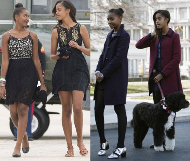 Malia and Sasha Obama top Time magazine's 25 Most Influential Teens of 2014 list