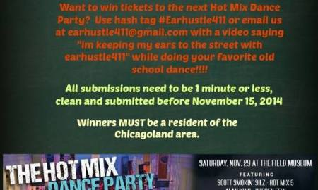 hot mixx dance contest flyer