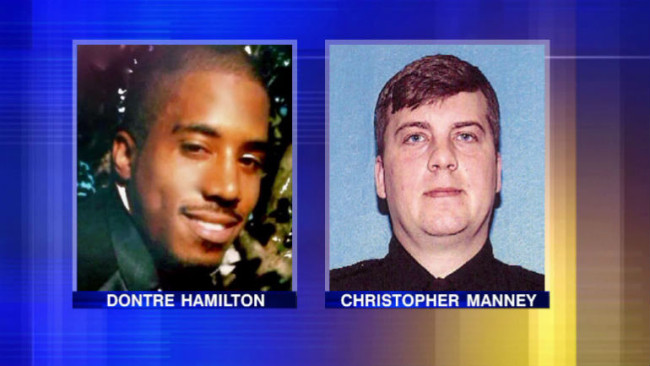Ex-Milwaukee Officer Will Not Be Charged In The Fatal Shooting Of Dontre Hamilton Of Milwaukee, WI