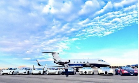 Floyd Mayweather Shows Off His Multi-Million Dollars Worth Of Cars & Private Jet