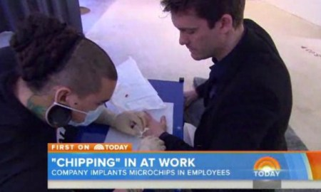 Could This Be The Mark Of The Beast? Swedish Company Implants Workers With Microchips