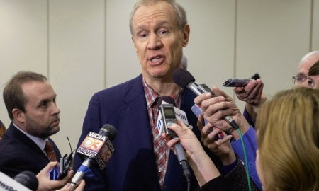 Illinois Governor Bruce Rauner Cut Many Programs For The Poor But Gives A $100 Million Corporate Tax Break To The Rich