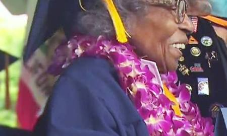 99- Year Old Woman Shows It's Never Too Late As She Graduates From College