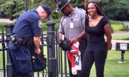 "Talk About Bold: African American Woman ""Bree Newsome"" Climbed The Capital Building In S. Carolina & Removed Confederate Flag"
