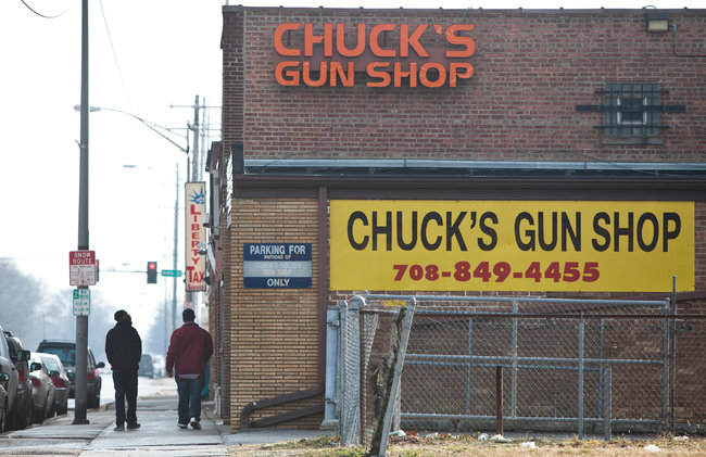 chucks gun shop