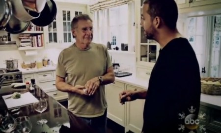 Harrison Ford Tells David Blaine The Magician To Get The F%$# Out Of My House!