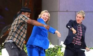 Hillary Clinton on Ellen