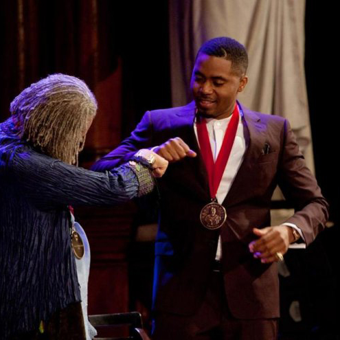 Nas-Rapper-Honored-With-W.E.B.-DuBois-Medal-at-Harvard-University