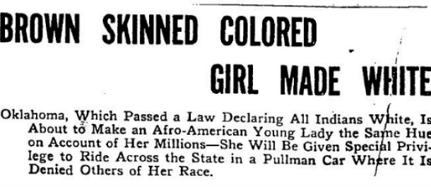 American History: During The Early 1900's She Was The Richest Black Girl In The World, What's Her Name???