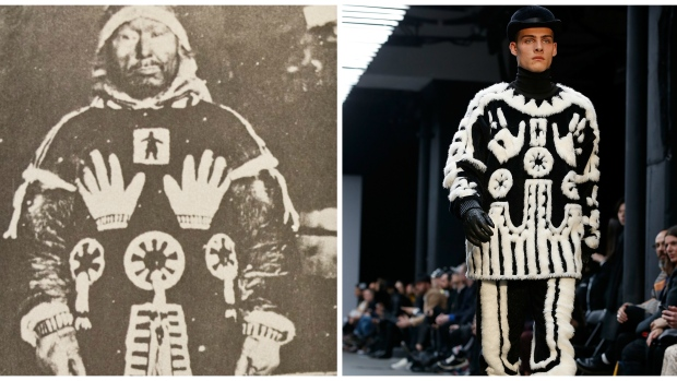 Nunavut Family Disgusted Afer A Fashion Lable Designed A copy Of A Sacred Inuit Design