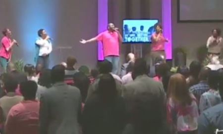 future and drake in church