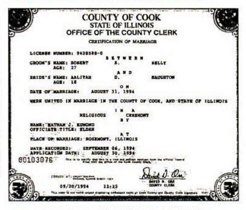 kelly-aaliyah marriage license