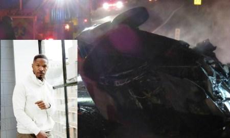 car crash jamie foxx