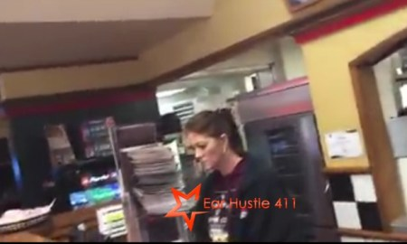 Pizza Hut Employee Throws Pizza At Black Guy Calls Him A Ni@@er He Threatens To Call Cops, She Apologize Saying My Ex Husband Was Black