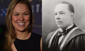 MMA Fighter Ronda Rousey's Great Grandfather Was Americas 1st Black Physician