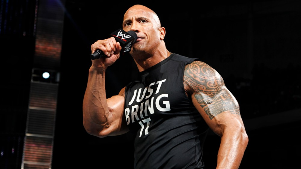 "Dewayne ""The Rock"" Johnson Breaks WWE Attendance Record At Wreslte Mania 32"