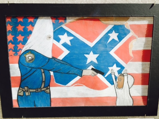 A 10th Grader's Artwork Has Set Off Has Set Off An Outrageous Controversy