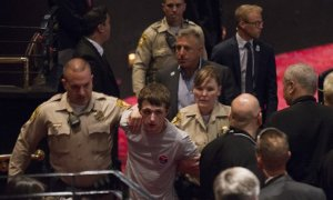 UK Man Tried To Pulled Police Gun & Tried To Kill Donald Trump At Las Vegas Rally
