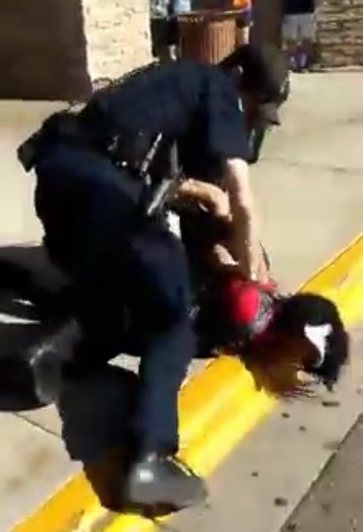 Police In Wisconsin Beat African- American Female, They Punched, Kicked & Tasered Her While Calling Her A Bi#@h