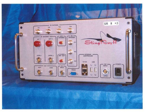 This undated handout photo provided by the U.S. Patent and Trademark Office shows the StingRay II, manufactured by Harris Corporation, of Melbourne, Fla., a cellular site simulator used for surveillance purposes. Photo Credit: Associated Press