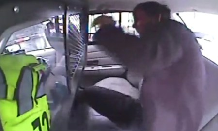 Shocking Video: 19-Year Old Ejected From Police Car During An Acident