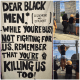 Black Female Activist Hang Highway Banner Putting Black Men On Blast, Black Men While You're Busy Not Fighting For Us, You're Killing Us Too!