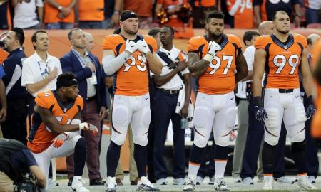 After Kneeling During The National Anthem, Brandon Marshall Loses Endorsement