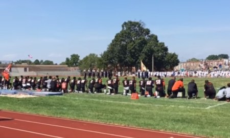 New Jersey High School Threatens To Suspend Athletes Who Don't Stand For The Anthem