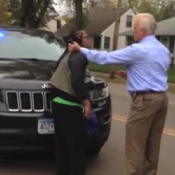 Cop Photo Goes Viral: Video Goes Viral After Cop Arrest Black Man For Just