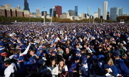 Chicago Cubs Celebration is Deemed The 7th Largest Gathering In Human History